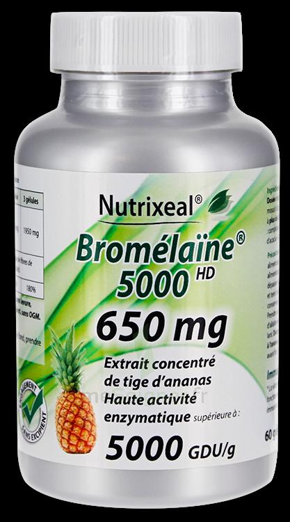 MeSoigner - Parapharmacie Nutrixeal Bromelaine 650mg