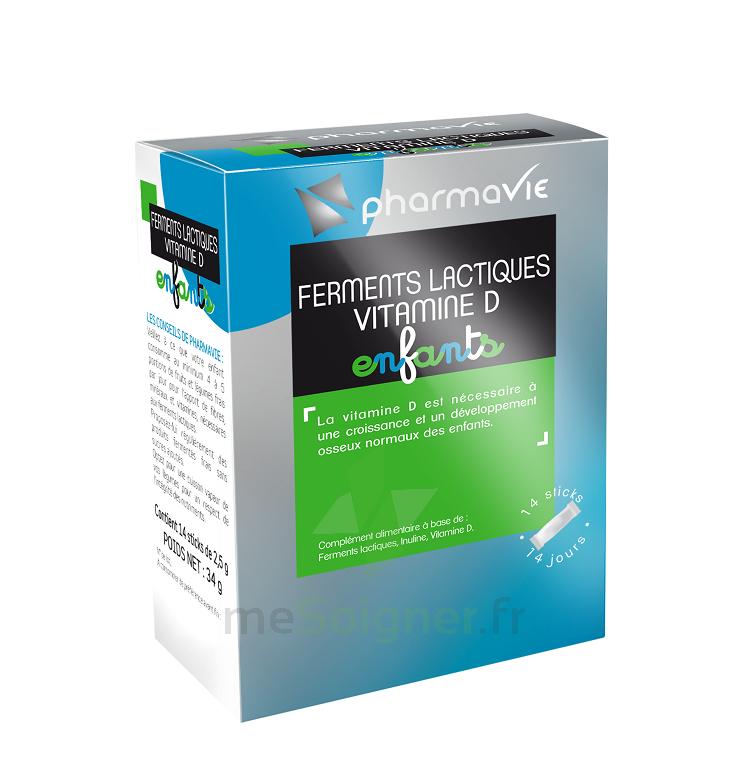 PHARMAVIE FERMENTS LACTIQUES ENFANTS 14 sticks