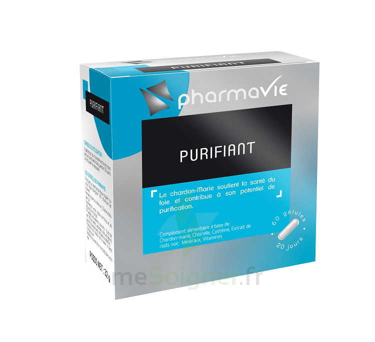 PHARMAVIE PURIFIANT 60 gélules