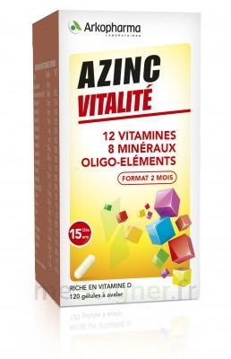 Azinc Forme et Vitalité Gélules dès 15 ans Fl/120