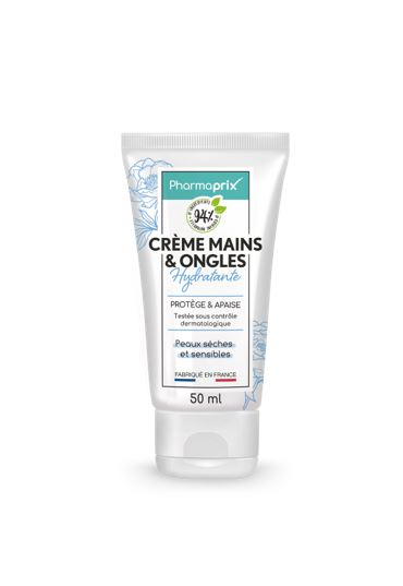 PHARMAPRIX CREME MAINS & ONGLES 50ml